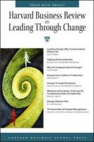 HBR On Leading Through Change: Harvard Business Review: Book by Harvard Business School Press
