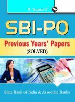 SBI - PO Previous Papers (Solved): Book by RPH Editorial Board