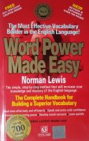 Word Power Made Easy: Book by Norman Lewis