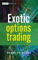 Exotic Options Trading: Book by Frans De Weert
