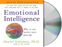 Emotional Intelligence: Why It Can Matter More Than IQ:Book by Author-Daniel P Goleman,Barrett Whitener,Daniel P Goleman