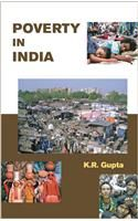 Poverty in India:Book by Author-K. R. Gupta