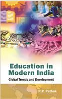 Education in Modern India: Book by R. P. Pathak