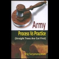 Army Process Vs Practice: Straight Trees are Cut First: Book by Brig Suryanarayanan