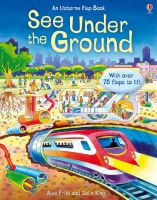 Usborne Flap Book : See Under The Ground: Book by Alex Frith , Colin King