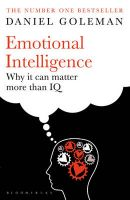 Emotional Intelligence: Why it Can Matter More Than IQ: Book by Daniel Goleman
