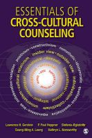 Essentials of Cross-Cultural Counseling: Book by Lawrence H. Gerstein
