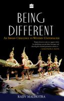 Being Different : An Indian Challenge to Western Universalism (English) (Paperback): Book by Rajiv Malhotra