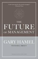 The Future of Management:Book by Author-Gary Hamel