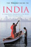 The Britannica Guide to India: A Comprehensive Introduction to the World's Fastest Growing Country:Book by Author-Britannica