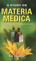 A STUDY ON MATERIA MEDICA: Book by CHOUDHURI NM