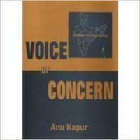 Voice of Concern: Indian Geography: Book by  Anu Kapur