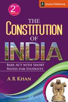The Constitution of India : Bare Act with Short Notes for Students (English) 2nd  Edition