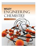 Engineering Chemistry, 2nd Ed
