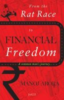 From the Rat Race toFinancial Freedom/A common man's journey[Paperback]: Book by Manoj Arora
