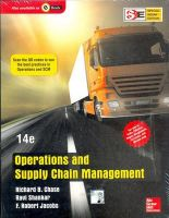 Operations & Supply Chain Mgmt: Book by Chase