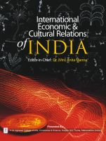 INTERNATIONAL ECONOMIC AND CULTURAL RELATIONS OF INDIA: Book by Edited by- Dr. Anita Manna