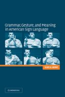 Grammar, Gesture, and Meaning in American Sign Language: Book by Scott K. Liddell