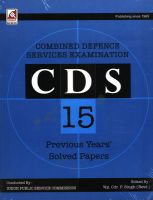 18.11.1-CDS Previous Paper: Book by Wg. Cdr. P. Singh (Retd.)
