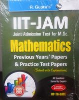 IIT-JAM - M.Sc. (Mathematics) Previous Papers (Solved): Book by RPH Editorial Board
