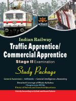 Indian Railway Traffic Apprentice/Commercial Apprentice (TA/CA) Stage-2 Examination Study Huide: Book by Arihant Expert