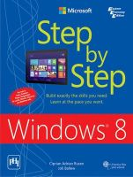 Microsoft Windows 8: Step by Step: Book by Ciprian Adrian Rusen , Joli Ballew
