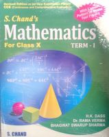 Mathematics for Class X(Term - I) (With CCE Papers) : Book by H. K. Dass