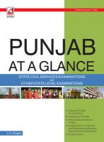 19.32 Punjab At A Glance: Book by J. K. Chopra