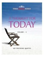 Thought For Today (book) Vol 4: Book by Bccl