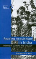 Reading Acquisition in India: Models of Learning and Dyslexia: Book by Purushottam G. Patel