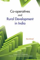 Co-operatives and Rural Development in India: Book by edited Rais Ahmad