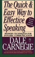 The Quick and Easy Way to Effective Speaking (English) (Paperback): Book by DALE CARNEGIE