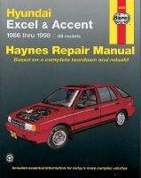 Hyundai Excel and Accent Automotive Repair Manual: 1986 to 1998: Book by Mike Stubblefield