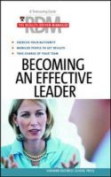 Becoming an Effective Leader: Book by Harvard Business School Press