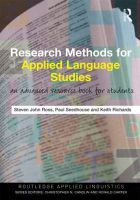 Research Methods for Applied Language Studies: An Advanced Resource Book for Students:Book by Author-Steven John Ross ,Paul Seedhouse