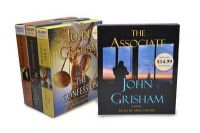 John Grisham CD Audiobook Bundle #2: The Associate; The Confession; The Litigators; The Racketeer: Book by John Grisham