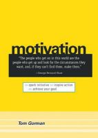 Motivation: Book by Tom Gorman