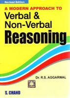 A Modern Approach To Verbal & Non Verbal Reasoning: Book by R. S. Aggarwal