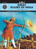 Great Rulers of India (5 in 1) (English) (Hardcover): Book by Anant Pai