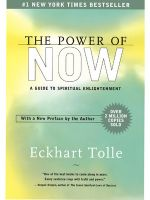 The Power Of Now : A Guide To Spiritual Enlightenment (English) (Paperback): Book by Eckhart Tolle