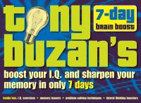 Tony Buzan's 7-day Brain Boost Pack:Book by Author-Tony Buzan