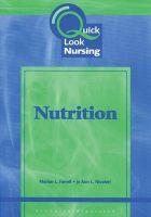Nutrition: Book by Jo Ann L. Nicoteri