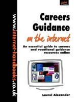 Careers Guidance on the Internet: An Essential Guide to Careers and Vocational Guidance Resources Online: Book by Laurel Alexander
