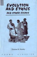 Evolution and Ethics and Other Essays.: Book by Huxley,T. H.