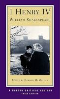 King Henry IV: Pt.1: Book by William Shakespeare