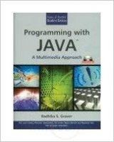Programming With Java:A Multimedia Approach (English): Book by Grover