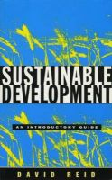 Sustainable Development: An Introductory Guide: Book by David Reid