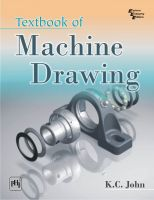 TEXTBOOK OF MACHINE DRAWING: Book by JOHN K. C.