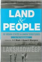 Land And People of Indian States & Union Territories (Lakshdweep), Vol-35: Book by Ed. S. C.Bhatt & Gopal K Bhargava