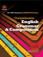 Comprehensive English Grammar & Composition: Book by SC Gupta